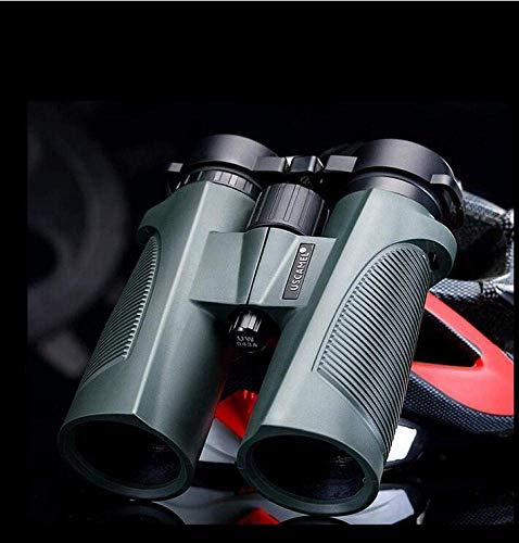 GWFVA BOC - Prismáticos (8 x 42, goma de alta definición, impermeables, visión nocturna, visión nocturna, concierto de aves, fotografía, adecuado para adultos y niños, A, telescópico)