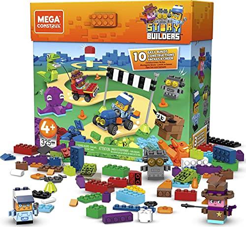 Mega Construx- Gran Conjunto de Story Builders definitivos, Multicolor (Mattel GRG42)