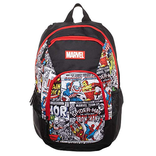 Bioworld Marvel Commuter Backpack Comic Taschen