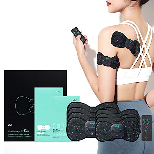 Klug Mini Massager S Duo Package : Wireless & Portable EMS Massager for...