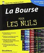 La Bourse pour les Nuls de Gérard Horny