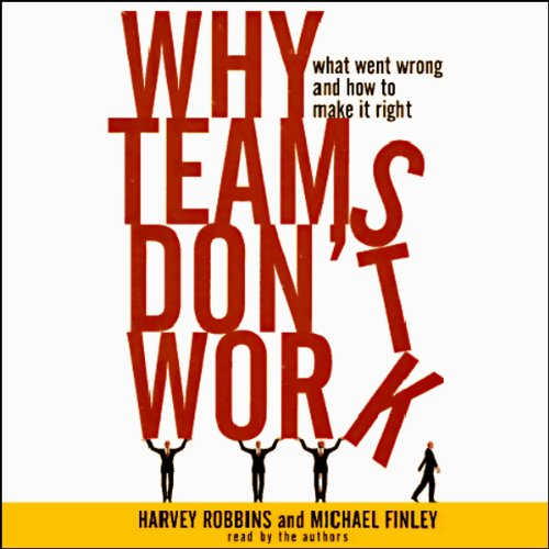 Why Teams Don't Work audiobook cover art