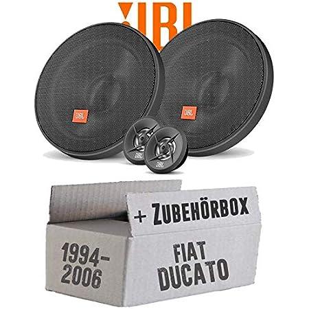 Lautsprecher Boxen Jbl Stage2 424 2 Wege 10cm Koax Auto Einbauzubehör Einbauset Für Fiat Ducato 244 Front Just Sound Best Choice For Caraudio Navigation