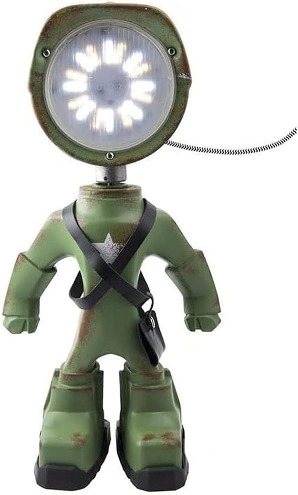 WZCL Industrial Max 51% OFF Robot Lamp Steampunk El Paso Mall Table Robo