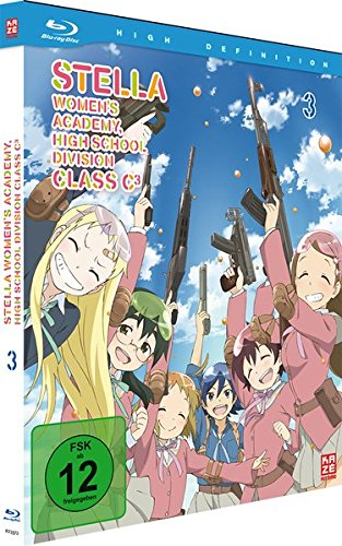 Stella Women's Academy - High School Division Class C³ - Vol.3 - [Blu-ray] Mediabook