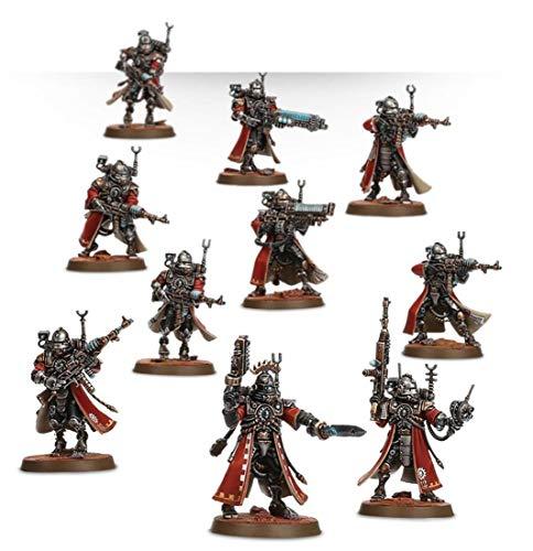 Games Workshop Figura de esquí Adeptus Mechanicus Skitarii Rangers con 10 Figuras Warhammer 40k (99120116016)