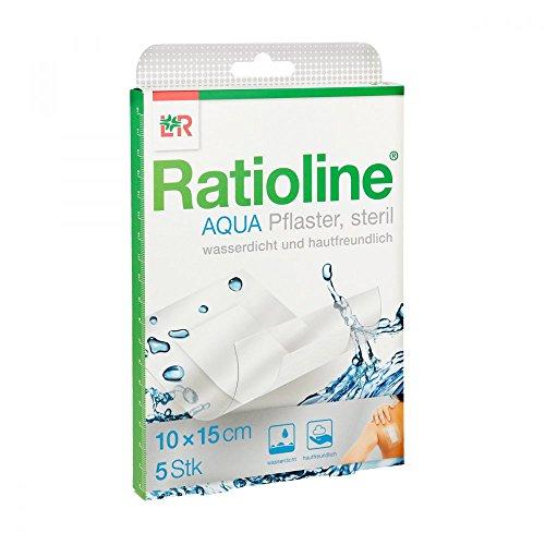 Ratioline Aqua Duschpflaster Plus 10x15 cm Steril, 5 St