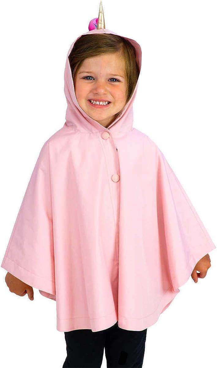 London Fog Kids Unicorn Rain Jacket Pink