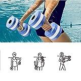 Mayyou Sport-Wasser-Übung Hanteln-Set von 2-Unisex Erwachsene Aqua Hantel für Wasser-Aerobic,...