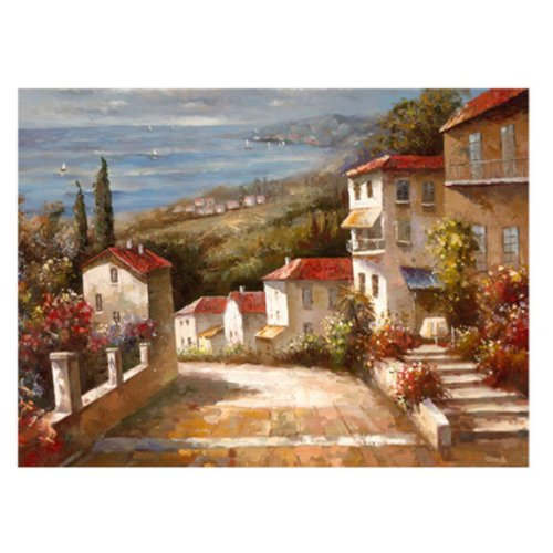 Home in Tuscany by Joval, 18x24-Inch Canvas Wall Art