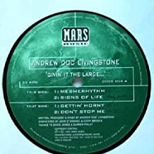 """Givin It The Large Ep - Andrew Doc Livingstone 12"""""""