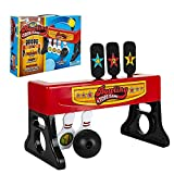 Gamie 2-in-1 Bowling and Tossing Game for Kids - Fun Indoor Carnival Game - Includes Base, Balls and Stickers...