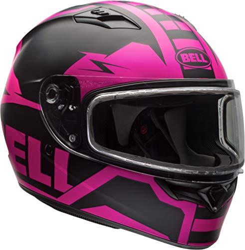 Bell Dual Shield Adult Qualifier Snow Helmet - Matte Pink/Black/Medium