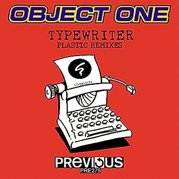Typewriter (Plastic Remixes)