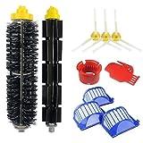 Kit accessoire (10 pièces) pour iRobot Roomba serie 585 595 600 605 610 616 620 625 630 631 632 639 650 651 680 681 691 696 2...