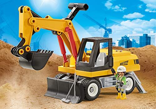 PLAYMOBIL Excavadora 9888