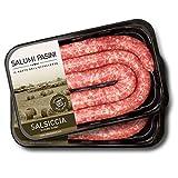 Salsiccia Fresca di puro Suino Salumi Pasini® | 2 Vaschette | 250 gr cad. | 100% Italiano | Senza Glutine e Lattosio