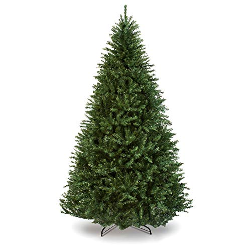 Best Choice Products 7.5ft Hinged Douglas Full Fir Artificial Christmas Tree Holiday Decoration w/ 2,254 Branch Tips, Easy Assembly, Foldable Metal Stand, Green