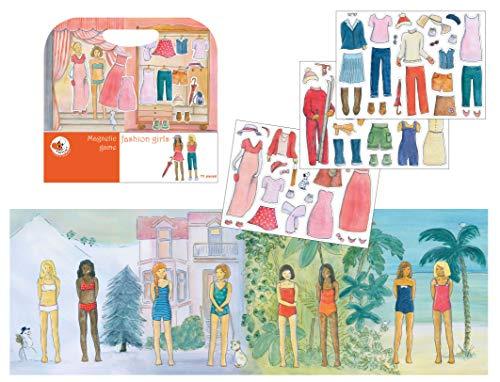 Egmont Toys Magnetic Activity Travel Game - Fashion Girls