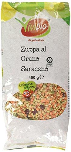 Vivibio Zuppa al Grano Saraceno, Biologico - 400 gr