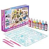 Koltose by Mash Sticky Suncatcher Art Craft Kit for Kids – Sun Catcher Window Art Craft Kit for Girls and Boys Ages 4 – 15, Over 100 Designs