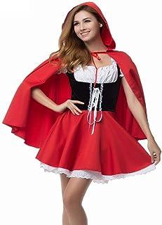 Lingerie Et Vêtements Sexy Petit Chaperon Rouge Costume Fantaisie Adulte Hallowen S'Habiller Fantasia Feminina Costumes De...