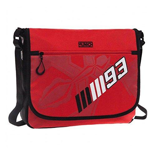 Munich Marc Marquez 93 Mochila Escolar, 11.78 litros, Color Rojo