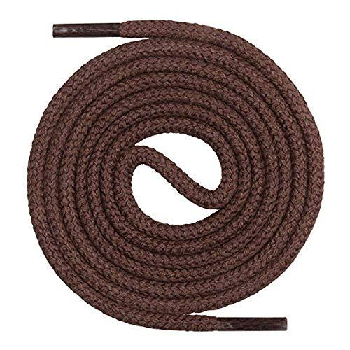 Collonil Kordel Durable 180 cm Marrón Oscuro Cordones De Zapato Redondo Grueso