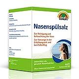 SUNLIFE Nasenspülsalz: Nasenspülung zur Reinigung verstopfter Nase, 60 Sticks à 2,25g