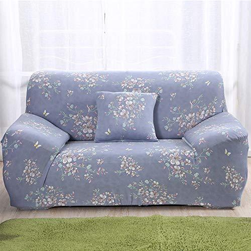 Fsogasilttlv Stretch Sofabezug Sofa üBerzug 3-Sitzer 1 Stück Elastische Sofabezug Wohnzimmer Geometrisch, Couchbezug Haustiere Ecke L-förmige Chaiselongue Universal