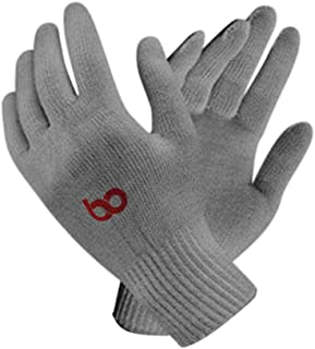 BO Unisex Reusable Washable Cotton Knitted Gloves Bundle (Grey, Free Size) Pack of 20