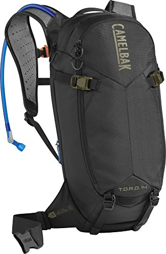 CAMELBAK T.O.R.O. Protector 14 Rucksack, Dry Black/Burnt Olive, one Size