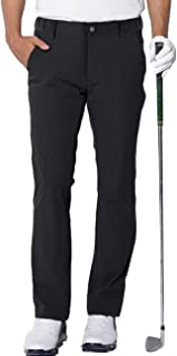 aoli ray Mens Golf Trousers Waterproof Slim Fit Lightweight Stretch Outdoor Pants