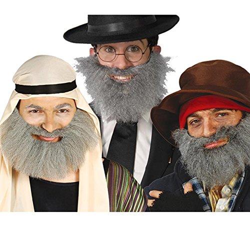 Fiestas Guirca Canuta Gris Barbe de Clochard de Clochard déguisement Arabe