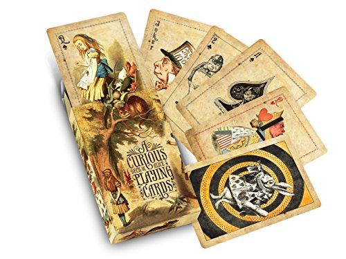 Cultzilla Alice's Abenteuer im Wunderland Neugierige Spielkarten
