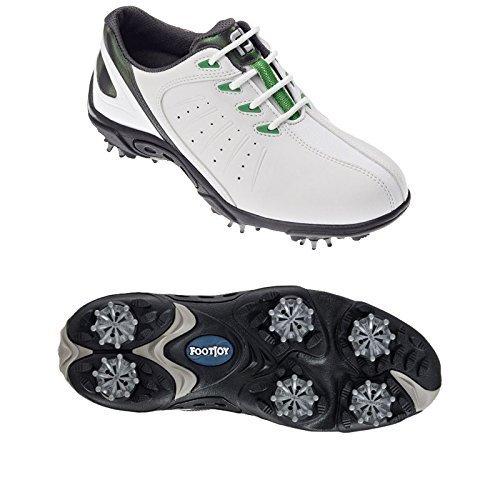 Footjoy Footjoy Junior Golfschuhe 45019 - Weiß / Grün, 36.5