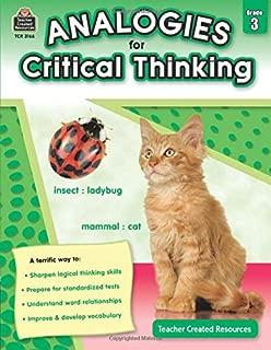 Analogies for Critical Thinking Grade 3: Grade 3