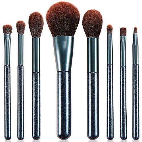 Pinceaux Maquillage Gee-regeous Premium 8 Pcs Fondation Correcteur Ombre à Paupières Essentiel Poudre Crème Liquide Mixeur Maquillage Pinceaux Ensembles
