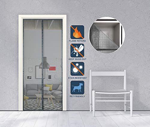 15 m bande magnétique /& Ruban d/'acier secondaire Vitrage Kit pour blanc cadre de fenêtre