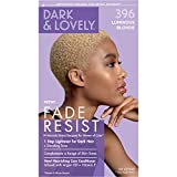 Softsheen-Carson Dark and Lovely Fade Resist Rich Conditioning Hair Color, Permanent Hair Color, Up To 100% Gray Coverage, Brilliant Shine with Argan Oil and Vitamin E, Luminous Blonde
