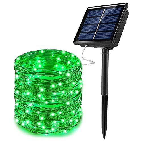 Luces Hadas, Cadena Luces solares LED 66 pies y 200 LED, Luces...