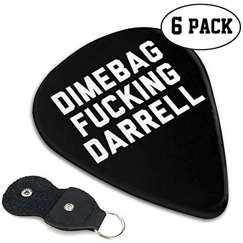 Dimebag Fucking Darrell Guitar Picks Guitarras eléctricas y bajas para guitarristas