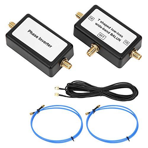 Antena en bucle, 10 kHz a 30 MHz Antena magnética pasiva 250 mW Antena receptora de alta frecuencia portátil de baja pérdida de banda ancha con línea de conexión