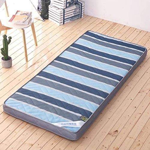 ZHAS Soft Breathable Mattress Topper, Foldable Floor Mat for Sleeping Tatami, Padded Quilter Traditional Japanese Padded Futon for the Home Dorm i-80x190cm (31x75inch)