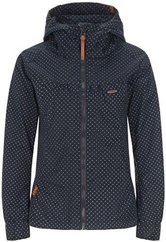 alife & kickin Black Mamba Jacket Damen Übergangsjacke, New Marine Dots, XS