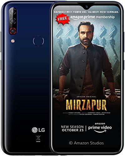 LG W30 PRO with 16MP Front Camera (Midnight Blue, 4GB RAM, 64GB Storage, SD 632)