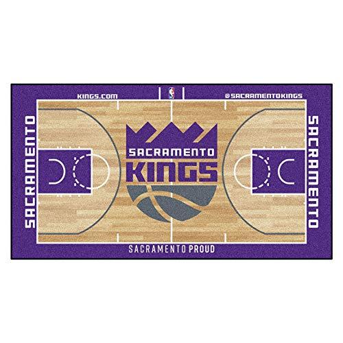 FANMATS NBA Sacramento Kings - Corredor de la NBA (Nailon, Talla pequeña)