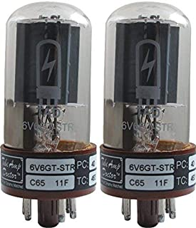 Tube Amp Doctor 6V6GT-STR Premium Selected Vacuum Tube, Matched Pair