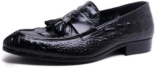 YCGCM Los zapatos De Los hombres, Negocios, Ocio, Inglaterra, Tallado, Broch, Tendencia, zapatos Bajos