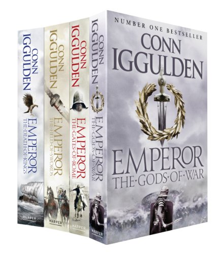 Emperor Set: The Gates of Rome, The Death of Kings, The Field of Swords, The Gods of War